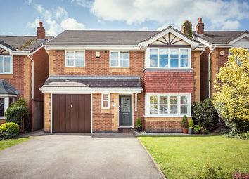 Thumbnail 4 bed detached house for sale in Gregorys Way, Belper, Derbyshire