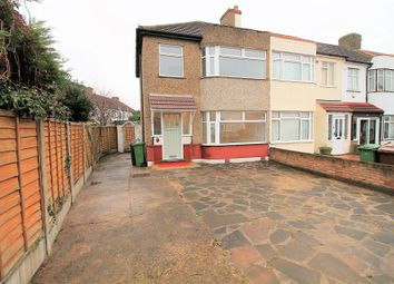 Thumbnail 3 bed end terrace house to rent in Warley Avenue, Dagenham, Essex