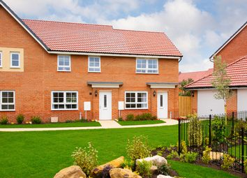 "Thumbnail 2 bedroom terraced house for sale in ""Roseberry"" at Morgan Drive, Whitworth, Spennymoor"