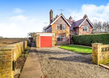 Thumbnail 3 bed semi-detached house for sale in Hall Cottages, Brandiston, Norwich