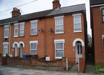 Thumbnail 2 bedroom end terrace house to rent in Schreiber Road, Ipswich, Suffolk