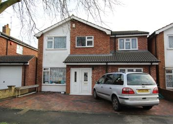 Thumbnail 5 bedroom detached house for sale in Coombe Rise, Oadby, Leicester