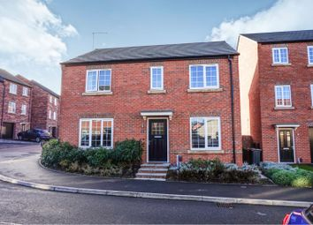 Thumbnail 4 bed detached house for sale in Weavers Way, Alfreton