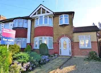 Thumbnail 4 bed end terrace house for sale in Devon Close, Perivale, Greenford, Greater London