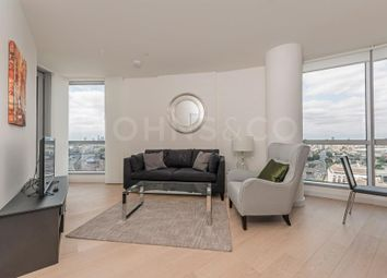 Thumbnail 1 bedroom flat for sale in Charrington Tower, Biscayne Avenue, London