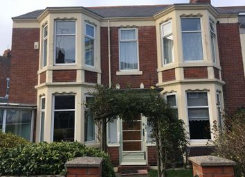 Thumbnail 4 bed terraced house for sale in Mason Avenue, Whitley Bay