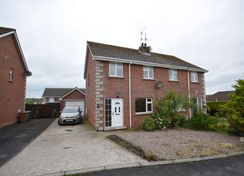 Thumbnail 3 bedroom semi-detached house to rent in Timakeel Manor, Portadown