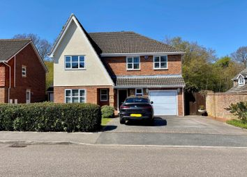 Thumbnail 4 bed detached house for sale in Lamplighters Close, Hempstead, Gillingham