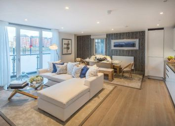 Thumbnail 3 bed flat for sale in Plantation Wharf, Battersea, London