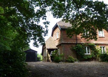 Thumbnail 3 bed cottage to rent in Woolmer Lane, Bramshott, Liphook