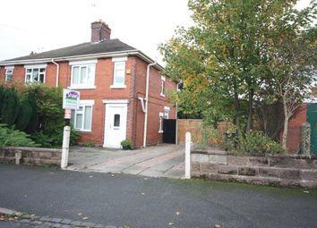 Thumbnail 3 bed semi-detached house for sale in Gordon Road, Sandyford, Stoke-On-Trent