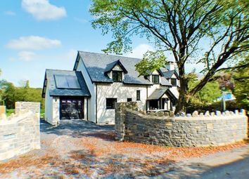 Thumbnail 4 bed detached house for sale in Oxwich, Swansea