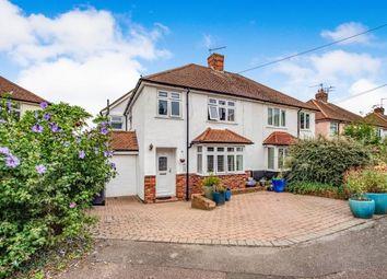 Thumbnail 4 bed semi-detached house for sale in Royal Avenue, Tonbridge, Kent