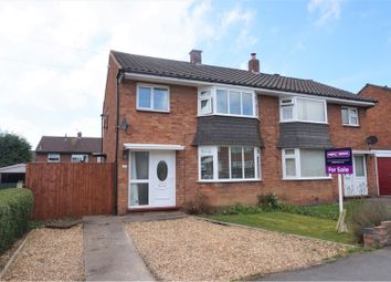 Thumbnail 3 bed semi-detached house for sale in Mount Pleasant Road, Shrewsbury
