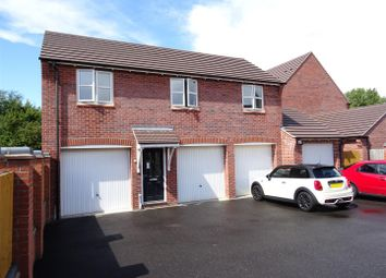 Thumbnail 2 bed flat for sale in Usbourne Way, Ibstock, Leicestershire