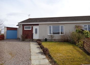 Thumbnail 2 bed semi-detached bungalow for sale in 19 Hilltop Road, Forres