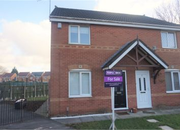 Thumbnail 3 bed semi-detached house for sale in Harewood Close, Huyton