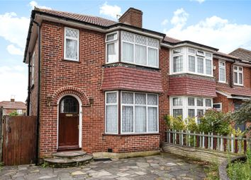 Thumbnail 3 bed semi-detached house for sale in Peareswood Gardens, Stanmore, Middlesex