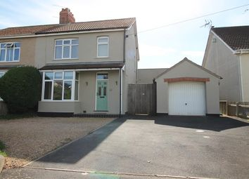 Thumbnail 3 bed semi-detached house for sale in Claverham Road, Claverham, North Somerset