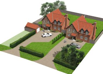 Thumbnail 4 bed detached house for sale in Spring Lane, Yaxham, Dereham
