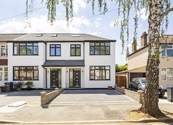 Thumbnail 4 bed semi-detached house for sale in Hazelwood Avenue, Morden