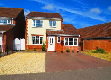 Thumbnail 3 bed detached house for sale in Walsingham Drive, Taverham, Norwich