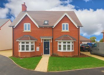 Thumbnail 4 bed detached house for sale in Montague Place, Worlds End Lane, Weston Turville, Buckinghamshire