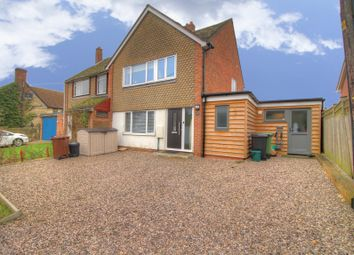 Thumbnail 3 bed semi-detached house for sale in Bear Lane, Stadhampton, Oxford
