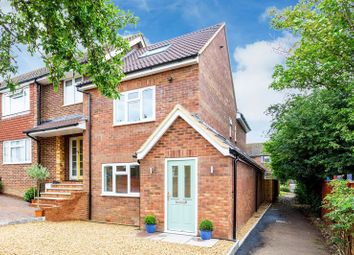Thumbnail 4 bed semi-detached house for sale in Laburnum Close, Marlow