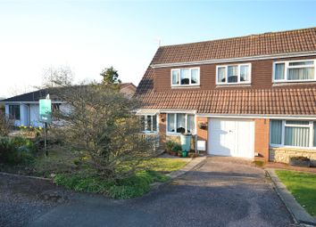 3 bed semi-detached house for sale in Withy Close, Tiverton, Devon EX16