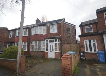 Thumbnail 4 bed semi-detached house to rent in Bedford Road, Firswood, Manchester