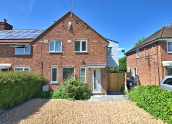 Thumbnail 3 bed semi-detached house to rent in Haslingfield Road, Harlton, Cambridge