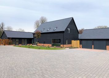 Thumbnail 5 bed detached house for sale in Church Farm Court, Roxton