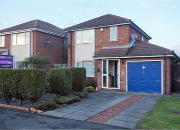 Thumbnail 3 bed detached house for sale in Stanton Drive, Morpeth