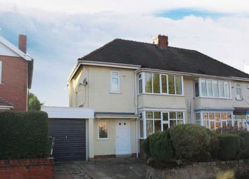 Thumbnail 3 bed semi-detached house for sale in Church Road, Bradmore, Wolverhampton