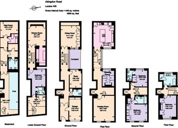 Thumbnail 4 bed town house for sale in Pater Street Kensington W8, London,