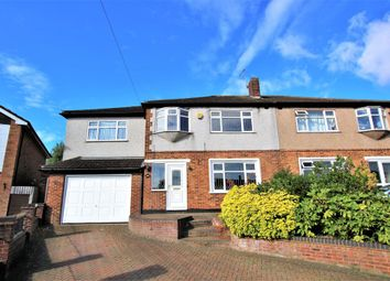 Thumbnail 5 bedroom semi-detached house for sale in Pettits Lane North, Romford
