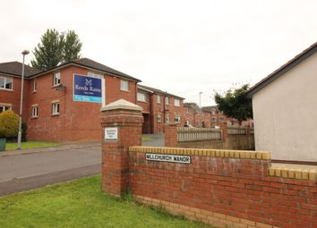 Thumbnail 2 bedroom flat to rent in Mill Church Manor, Newtownabbey