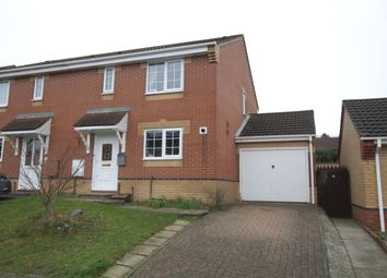 Thumbnail 3 bed semi-detached house for sale in Hudson Way, Chapel Break, Norwich