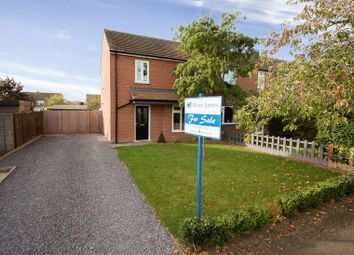 Thumbnail 3 bed end terrace house for sale in Mandeville Road, Brampton, Huntingdon, Cambridgeshire.