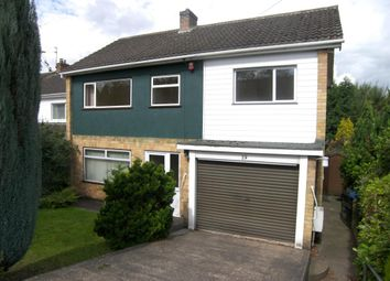 Thumbnail 4 bedroom detached house to rent in Clifton Road, Allestree, Derby