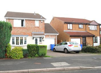 Thumbnail 3 bed detached house for sale in Hatfield Drive, Seghill, Cramlington, Northumberland