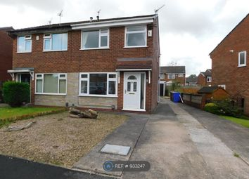 Thumbnail 2 bed semi-detached house to rent in Woodfield Drive, Worsley, Manchester