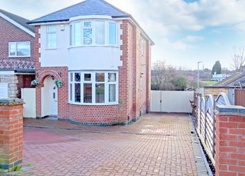 Thumbnail 3 bed detached house for sale in Thurncourt Road, Leicester