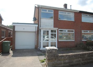 Thumbnail 3 bed semi-detached house for sale in Lockton Crescent, Thornaby, Stockton-On-Tees