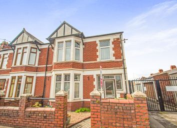 Thumbnail 4 bed end terrace house for sale in Ystrad Street, Cardiff