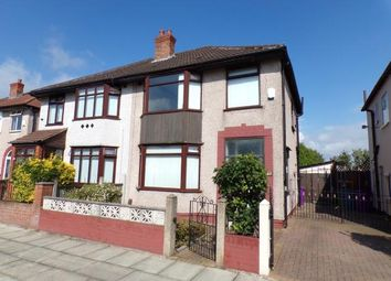 Thumbnail 3 bed semi-detached house for sale in Montgomery Road, Orrell Park, Liverpool, Merseyside