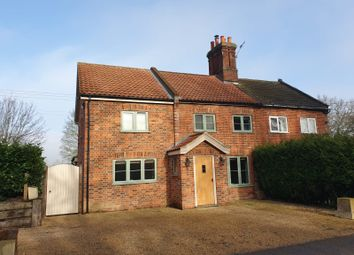 Thumbnail 3 bed semi-detached house for sale in Old Watton Road, Colney, Norwich