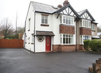 Thumbnail 3 bed semi-detached house to rent in Holmes Chapel Road, Congleton