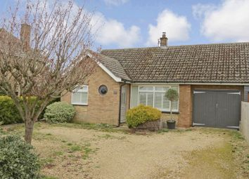 Thumbnail 2 bedroom semi-detached bungalow for sale in Cromwell Mews, Maxey Road, Helpston, Peterborough